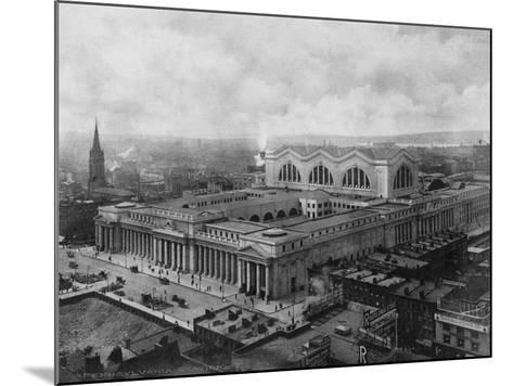 Pennsylvania Station--Mounted Photographic Print