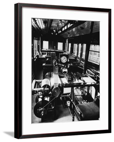 Dynamometer Car--Framed Art Print