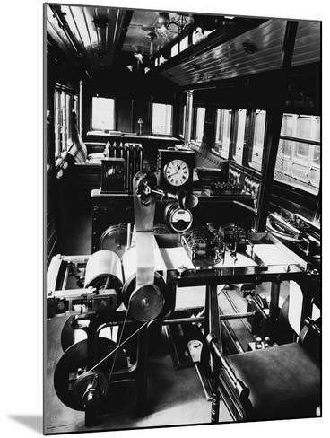 Dynamometer Car--Mounted Photographic Print