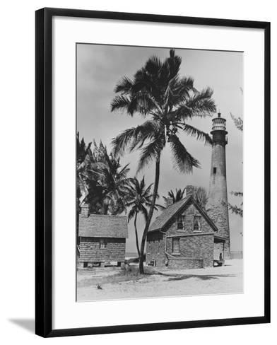 Lighthouse Museum in Key West--Framed Art Print