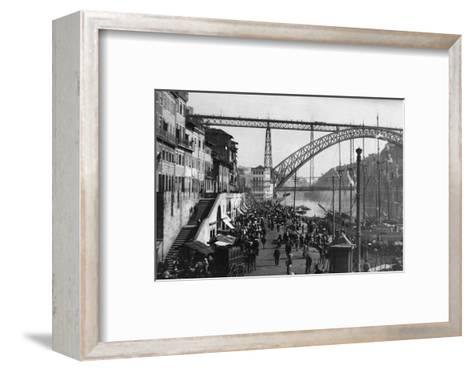 Duoro River Waterfront--Framed Art Print