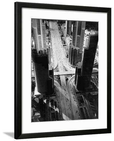 Futurama City of 1960--Framed Art Print