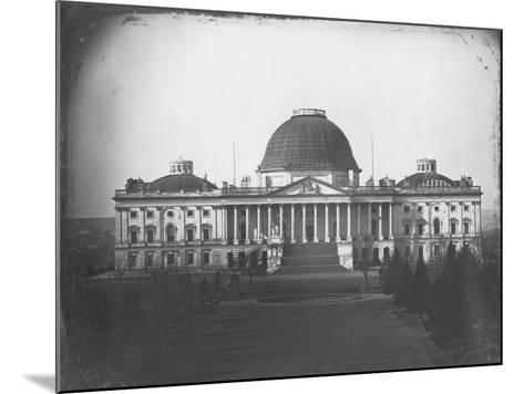 East Face of U. S. Capitol in 1846-John Plumbe Jr.-Mounted Photographic Print