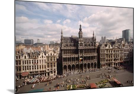 The Grand' Place in Brussels-Vittoriano Rastelli-Mounted Photographic Print