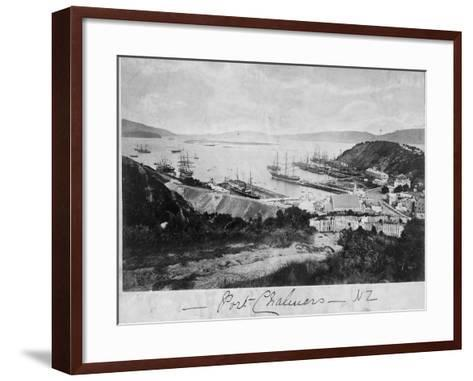 Port Chalmers--Framed Art Print