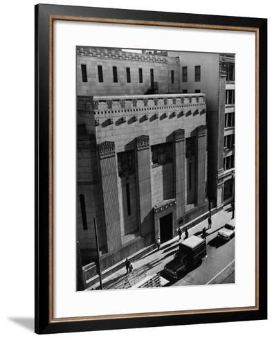 Pacific Coast Stock Exchange--Framed Art Print