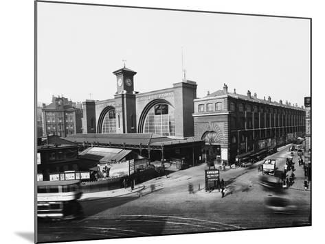 King's Cross Railway Station--Mounted Photographic Print