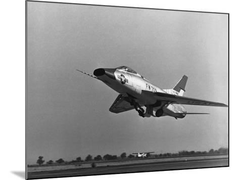 North American Super Sabre--Mounted Photographic Print