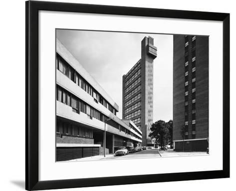 Trellick Tower in London--Framed Art Print