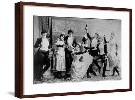 The Black Crook Company-Napoleon Sarony-Framed Art Print