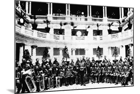 John Sousa and United States Marine Corps Band--Mounted Photographic Print