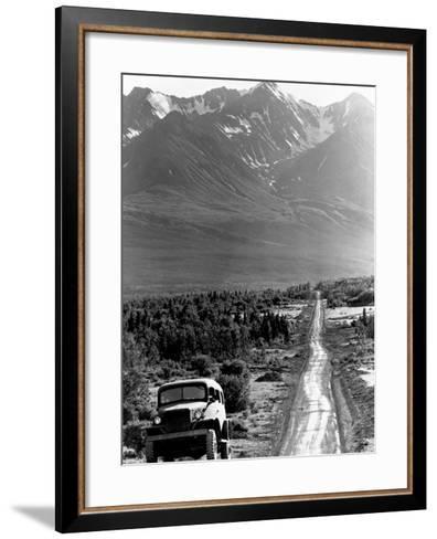 Alcan under Construction--Framed Art Print