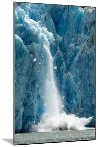 Icebergs Calving from Glacier, Alaska-Paul Souders-Mounted Photographic Print