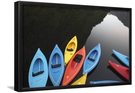 Kayaks-Paul Souders-Framed Art Print