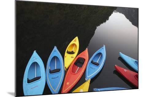 Kayaks-Paul Souders-Mounted Photographic Print