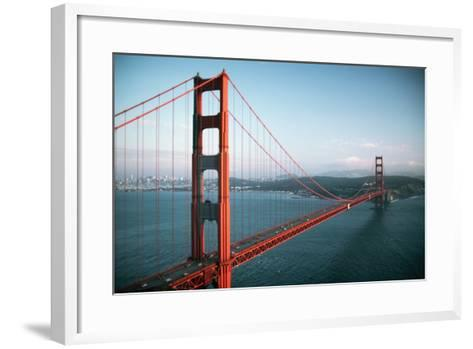 Golden Gate Bridge-Roger Ressmeyer-Framed Art Print