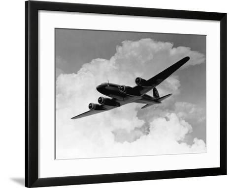Focke-Wulfe Fw 200 Condor in Flight--Framed Art Print