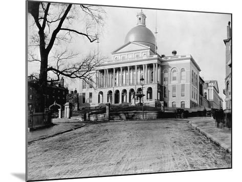 Massachusetts State House-N.L. Stebbins-Mounted Photographic Print