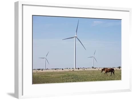 Wind Farm, Vega, Texas-Paul Souders-Framed Art Print