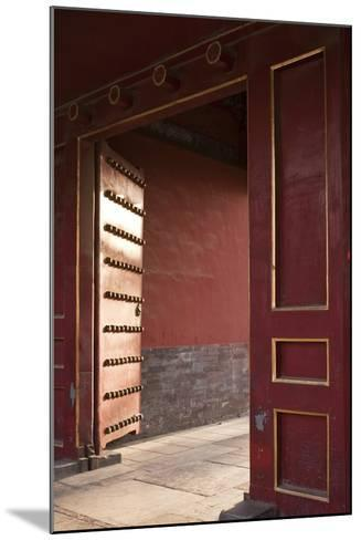 Open Gates at the Forbidden City-Paul Souders-Mounted Photographic Print