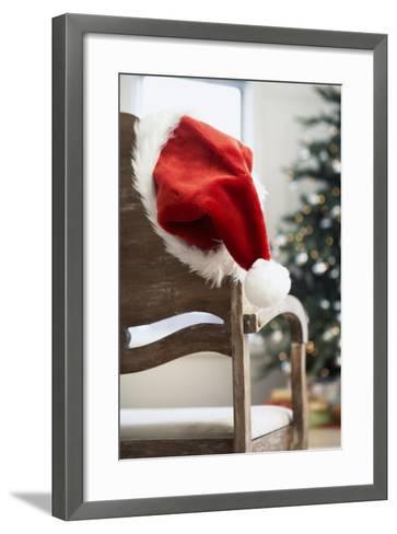 Santa Hat on Chair-Pauline St^ Denis-Framed Art Print