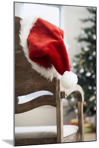 Santa Hat on Chair-Pauline St^ Denis-Mounted Photographic Print