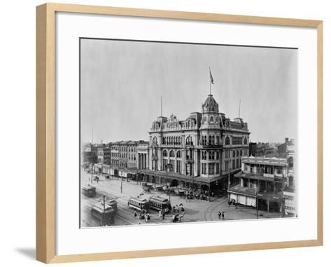 Maison Blanche-John N. Teunisson-Framed Art Print