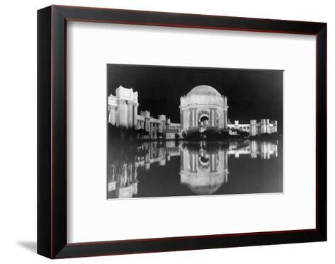 Palace of Fine Arts at the Panama-Pacific Internatonal Exposition--Framed Art Print