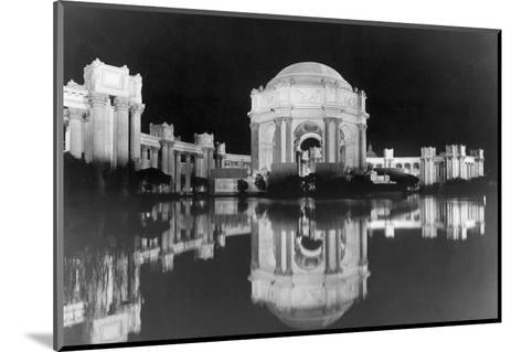 Palace of Fine Arts at the Panama-Pacific Internatonal Exposition--Mounted Photographic Print
