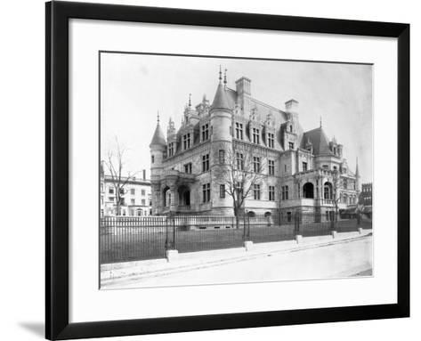 Charles M. Schwab Mansion, New York--Framed Art Print