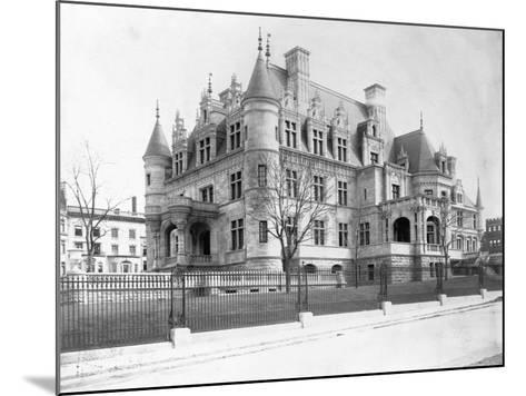 Charles M. Schwab Mansion, New York--Mounted Photographic Print