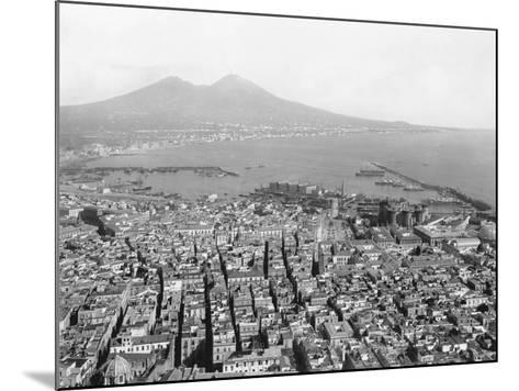 Naples and Mount Vesuvius-Edizioni Bregi-Mounted Photographic Print