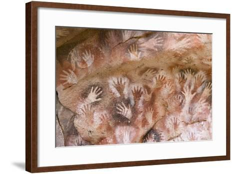 Cave of Hands in Patagonia, Argentina-Paul Souders-Framed Art Print