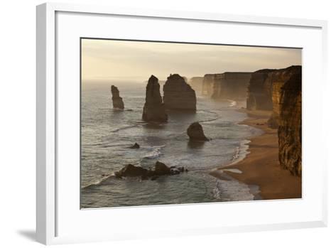 Twelve Apostles Sea Stacks in Australia-Paul Souders-Framed Art Print
