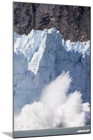 Calving Glacier in Glacier Bay National Park-Paul Souders-Mounted Photographic Print