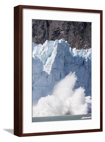 Calving Glacier in Glacier Bay National Park-Paul Souders-Framed Art Print