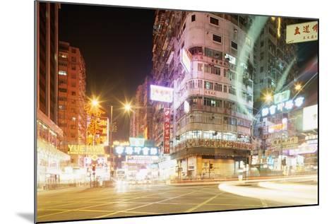 Neon Signs of Tsim Sha Tsui-Paul Souders-Mounted Photographic Print