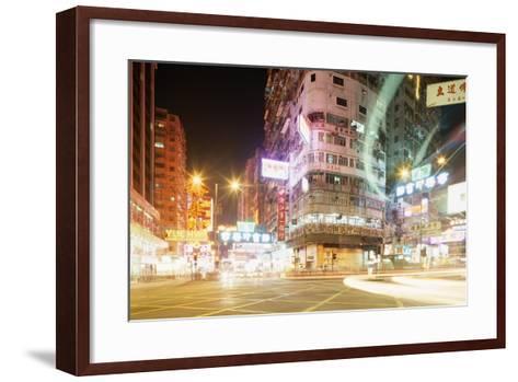 Neon Signs of Tsim Sha Tsui-Paul Souders-Framed Art Print
