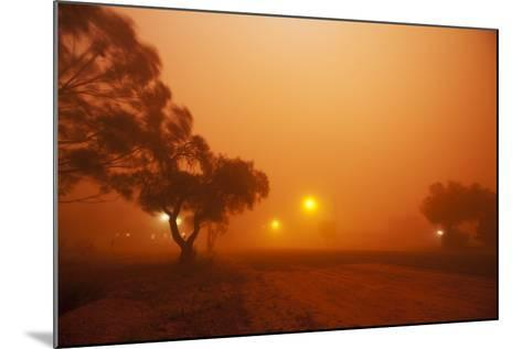 Dust Storm in the Australian Outback-Paul Souders-Mounted Photographic Print