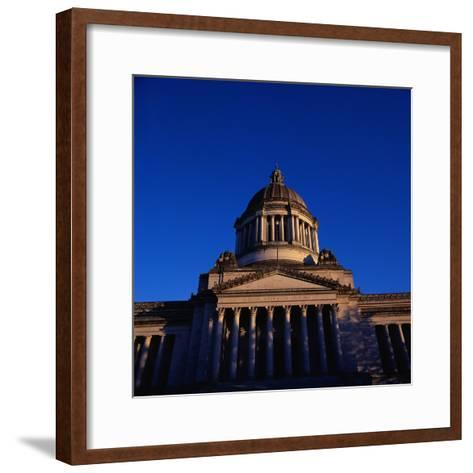 Washington State Capitol Building-Paul Souders-Framed Art Print