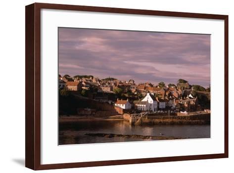 Harbor on Fife Coast-Vittoriano Rastelli-Framed Art Print