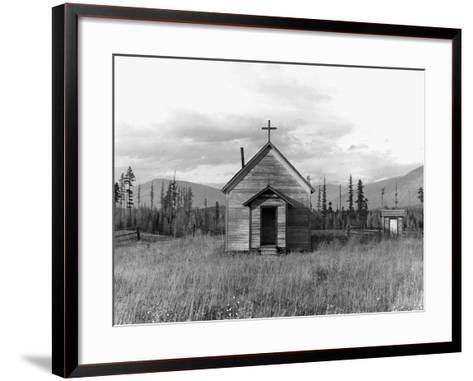 Abandoned Church-Dorothea Lange-Framed Art Print
