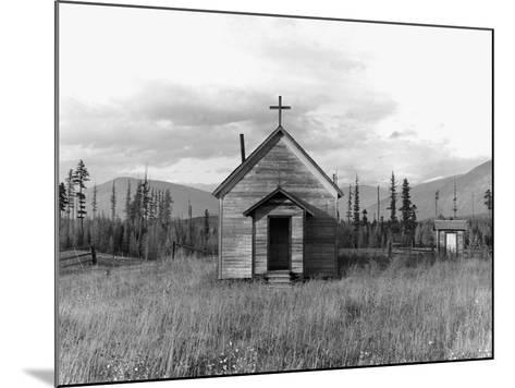 Abandoned Church-Dorothea Lange-Mounted Photographic Print