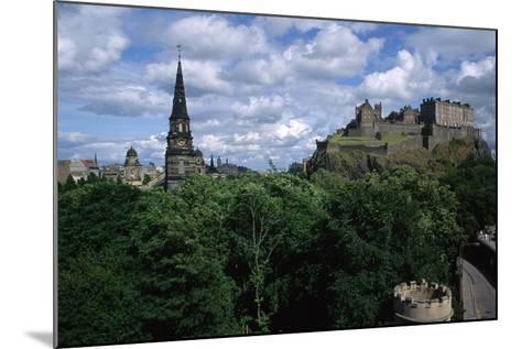 Edinburgh Castle-Vittoriano Rastelli-Mounted Photographic Print