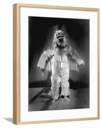 Hamasilahl - Qagyuhl-Edward S^ Curtis-Framed Art Print