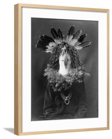 Haschogan - Navaho-Edward S^ Curtis-Framed Art Print