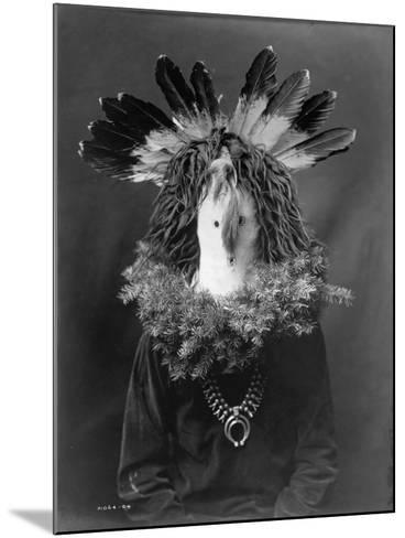 Haschogan - Navaho-Edward S^ Curtis-Mounted Photographic Print