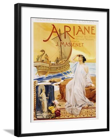 Ariane Poster-Albert Maignan-Framed Art Print