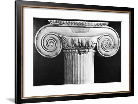 Column Capital from Temple of Artemis at Ephesus--Framed Art Print