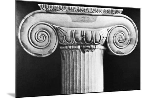 Column Capital from Temple of Artemis at Ephesus--Mounted Photographic Print
